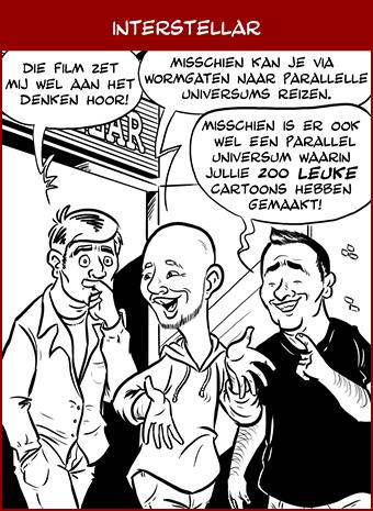 Hoe komen de cartoons tot stand: inkt