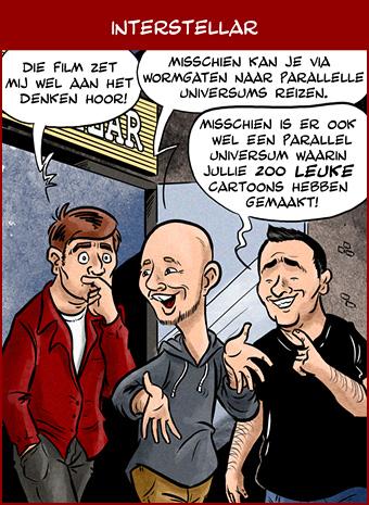 Hoe komen de cartoons tot stand: eindresultaat