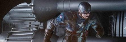 Captain America in actie