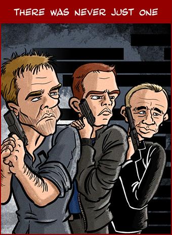 Cartoon: The Bourne Legacy