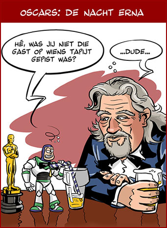 Cartoon: Oscars uitgereikt