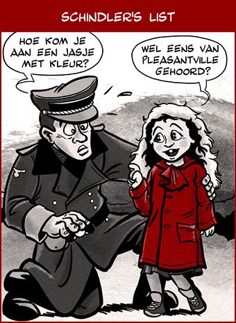 Cartoon: Schindler's List