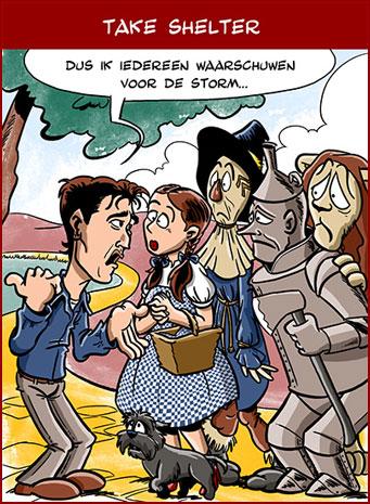 Cartoon: Take Shelter