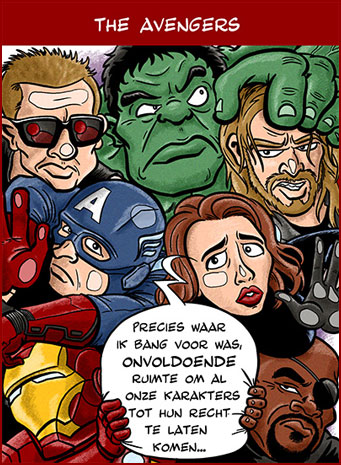Cartoon: The Avengers