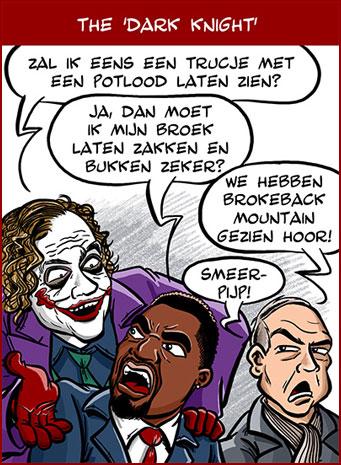 Cartoon: The Dark Knight