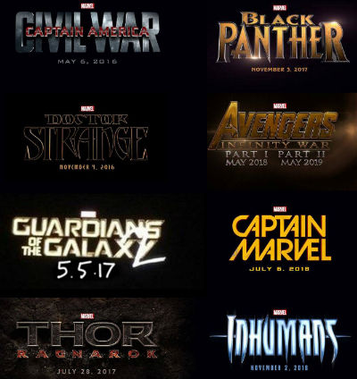Marvel - Phase 3