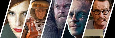 Oscars 2016: beste acteur in een hoofdrol