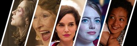 Oscars 2017: beste actrice in een hoofdrol