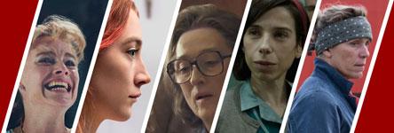 Oscars 2018: beste actrice in een hoofdrol