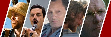 Oscars 2019: beste acteur in een hoofdrol