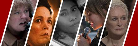 Oscars 2019: beste actrice in een hoofdrol