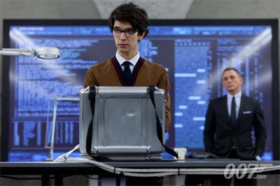 Ben Whishaw als Q in Skyfall