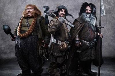 Bombur, Bofur en Bifur - The Hobbit
